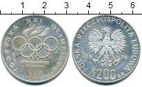 Изображение Монеты Польша 200 злотых 1976 Серебро XF