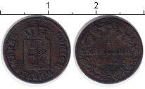 Изображение Монеты Вюртемберг 1 крейцер 1842 Медь VF
