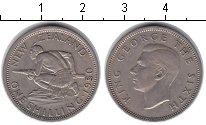 Изображение Монеты Новая Зеландия 1 шиллинг 1950 Медно-никель XF