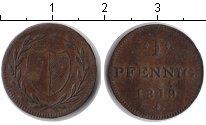 Изображение Монеты Франкфурт 1 пфенниг 1819 Медь VF токен