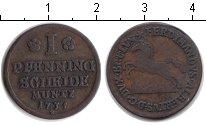 Изображение Монеты Брауншвайг-Люнебург 1 пфенниг 1738 Медь