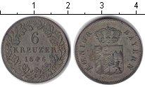 Изображение Монеты Бавария 6 крейцеров 1846 Серебро XF