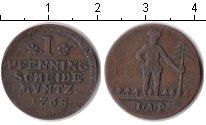 Изображение Монеты Брауншвайг-Вольфенбюттель 1 пфенниг 1765 Медь VF