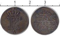 Изображение Монеты Пруссия 1/48 талера 1772 Серебро VF