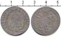 Изображение Монеты Вюртемберг 10 крейцеров 1765 Серебро XF