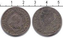 Изображение Монеты Бавария 10 крейцеров 1772 Серебро XF