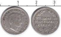 Изображение Монеты Баден 3 крейцера 1829 Серебро VF Людвиг