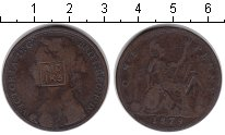 Изображение Монеты Великобритания 1 пенни 1879 Медь VF