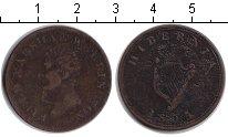 Изображение Монеты Ирландия 1/2 пенни 1805 Медь