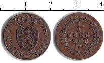 Изображение Монеты Нассау 1/4 крейцера 1819 Медь XF