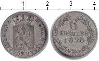 Изображение Монеты Нассау 6 крейцеров 1823 Серебро VF