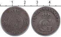 Изображение Монеты Швеция 1/12 ригсдаллера 1779 Серебро VF
