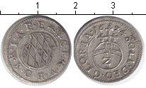 Изображение Монеты Бавария 2 крейцера 1624 Серебро VF