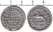 Изображение Монеты Брауншвайг-Люнебург 4 марьенгрош 1681 Серебро XF