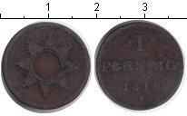 Изображение Монеты Франкфурт 1 геллер 1819 Серебро