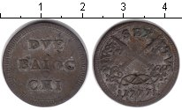 Изображение Монеты Ватикан 2 байочи 1777 Серебро VF