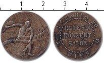Изображение Монеты Австрия Жетон 1920 Медно-никель XF Жетон музыкального с