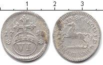 Изображение Монеты Брауншвайг-Люнебург 6 марьенгрош 1750 Серебро
