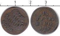 Изображение Монеты Бавария 1 пфенниг 1796 Медь