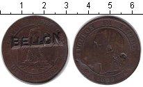 Изображение Монеты Франция 10 сентим 0   Надчекан