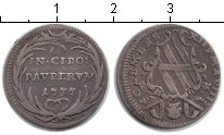 Изображение Монеты Ватикан номинал 1737 Серебро