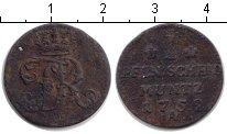 Изображение Монеты Пруссия 1 пфенниг 1752 Медь F А