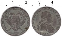 Изображение Монеты Саксония 1/6 талера 1792