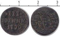 Изображение Монеты Саксония 3 пфеннига 1779 Медь VF