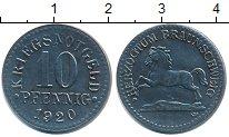 Изображение Монеты Нотгельды 10 пфеннигов 1920 Цинк XF
