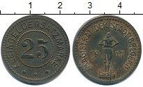 Изображение Монеты Нотгельды 25 пфеннигов 1917 Цинк XF