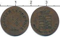 Изображение Монеты Саксен-Майнинген 1/4 крейцера 1828 Медь VF