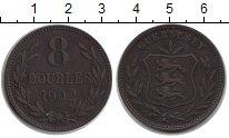 Изображение Монеты Гернси 8 дублей 1902 Медь VF