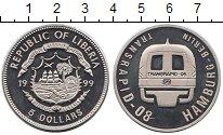 Изображение Монеты Либерия 5 долларов 1999 Медно-никель UNC-