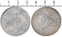 Изображение Монеты ФРГ 10 марок 1972 Серебро UNC- Олимпиада в Мюнхене