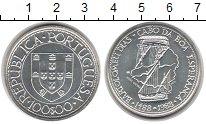 Изображение Монеты Португалия 100 эскудо 1988 Серебро XF