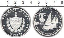 Изображение Монеты Куба 10 песо 1997 Серебро Proof