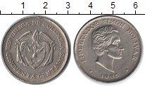 Изображение Монеты Колумбия 50 сентаво 1965 Медно-никель VF