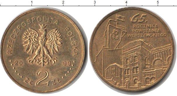 Картинка Монеты Польша 2 злотых  2009