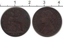 Изображение Монеты Великобритания 1 фартинг 1894 Медь XF-