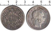 Изображение Монеты Австрия 1 флорин 1878 Серебро VF