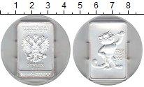 Изображение Монеты Россия 3 рубля 2011 Серебро UNC- Леопард. Сочи 2014