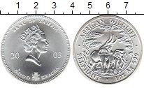 Изображение Монеты Замбия 5000 квач 2003 Серебро UNC-
