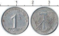 Изображение Монеты ГДР ГДР 1952 Алюминий XF