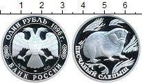 Изображение Монеты Россия 1 рубль 1996 Серебро Proof