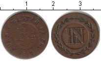 Изображение Монеты Германия Вестфалия 1 сантим 1812 Медь VF