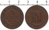 Изображение Монеты Вестфалия 3 сентима 1809 Медь VF