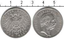 Изображение Монеты Саксония 2 марки 1903 Серебро XF Георг