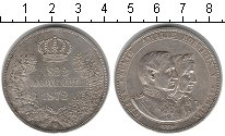 Изображение Монеты Германия Саксония 2 талера 1872 Серебро XF