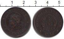 Изображение Монеты Аргентина 2 сентаво 1890  XF