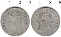 Изображение Монеты Венгрия 1 форинт 1876 Серебро VF